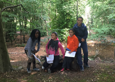 'We went orienteering exploring the woods! We had to read the map and find markings, it was a real adventure!'