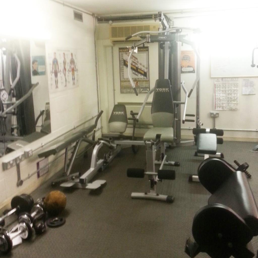 Gym skyway