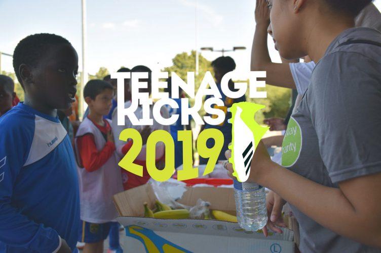 Teenage kicks banner