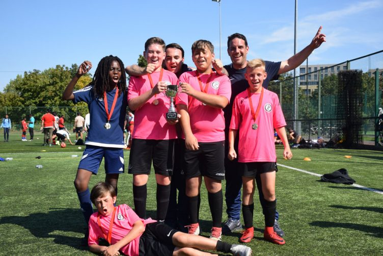 under-12s football winners