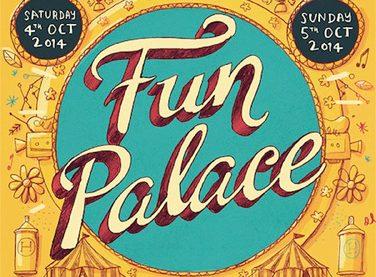 Hoxton Fun Palace sign