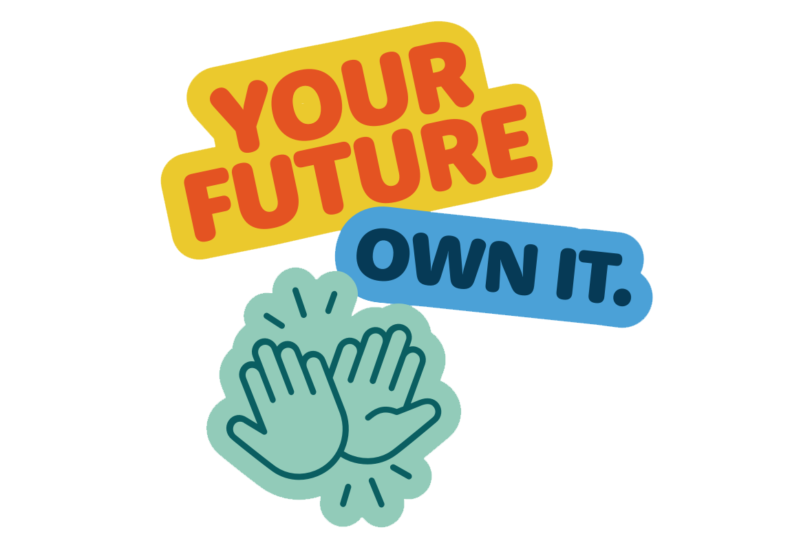 Your Future. Own it stickers